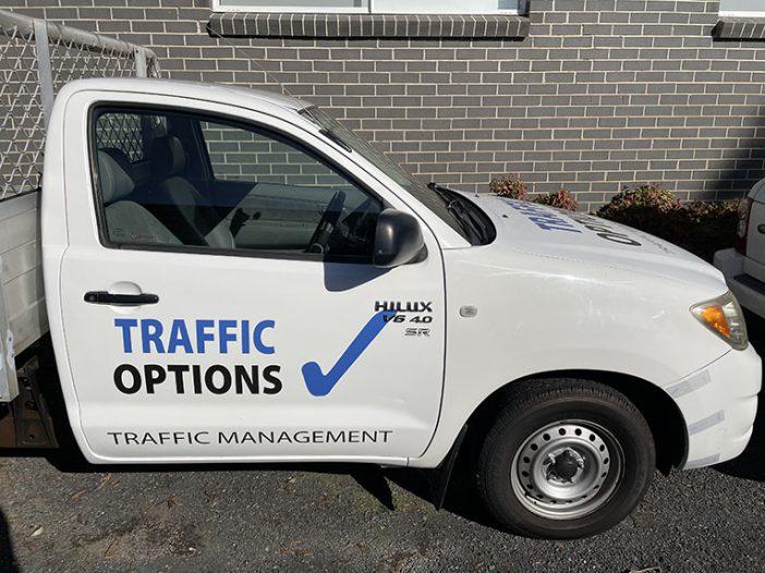 Traffic Control Vehicle Side
